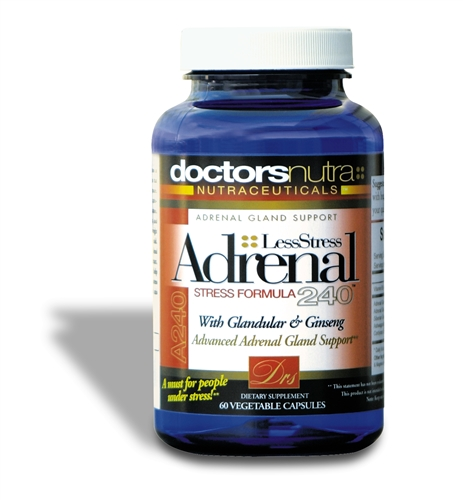 <strong>Adrenal 240 Less Stress Formula</strong><br>Helps Support Healthy Adrenal Glands!<br>Monthly Auto Ship Advantage