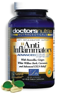 <strong>Natural Anti-Inflammatory Advanced EXL9!</strong></br> A Natural Alternative!