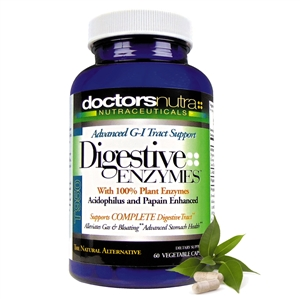 <strong>GI-Digestive Enzymes G-I Ezze-24 Complete!</strong><br><i>With Herbs & Enzymes for Optimal Digestive Support <br>Monthly Auto-Ship Advantage</i><br>60 Count Size