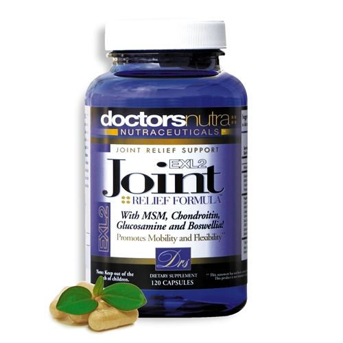 <strong>Joint Relief EXL2 </strong><br>NATURAL ARTHRITIS & JOINT SUPPORT FORMULA