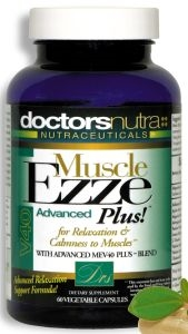 "<strong>""The Original"" Muscle Ezze PLUS V40 Advanced!</strong><br><i> Day or Night Muscle Relaxation Support Formula<br>Monthly Auto-Ship Advantage</i>"