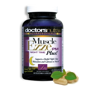 <strong>Muscle Ezze PM PLUS Natural Night Time Sleep Aid</strong><br><i>Muscle Relaxation Support Formula!</i>