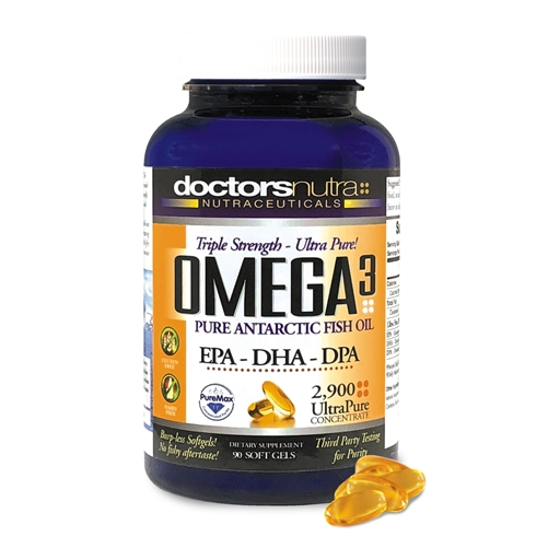 <strong>Omega 3 Natural Wild Caught Fish Oil DPA Supplement</strong><br>Maximum Strength EPA, DHA and DPA