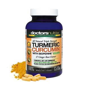 <strong>All Natural Triple Strength Turmeric Curcumin with BioPerine 1510 mg</strong></br> A Natural Alternative Anti-Inflammatory!